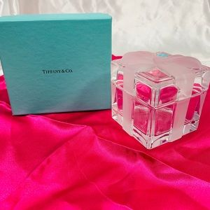 Tiffany Crystal gift box.